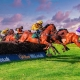 HDR Horse Racing Photo